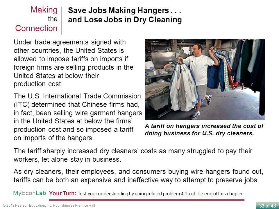 33 of 43 © 2013 Pearson Education, Inc. Publishing as Prentice Hall Save Jobs Making Hangers...