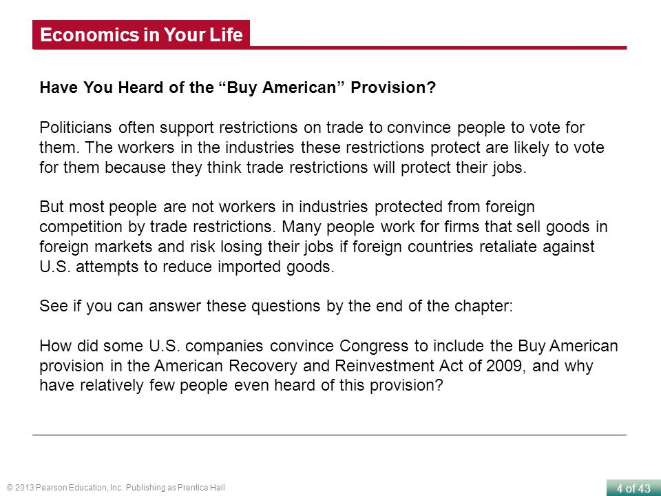 5 of 43 © 2013 Pearson Education, Inc.