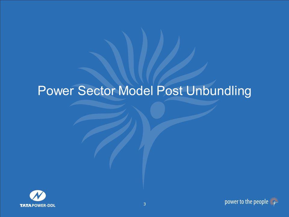3 Power Sector Model Post Unbundling