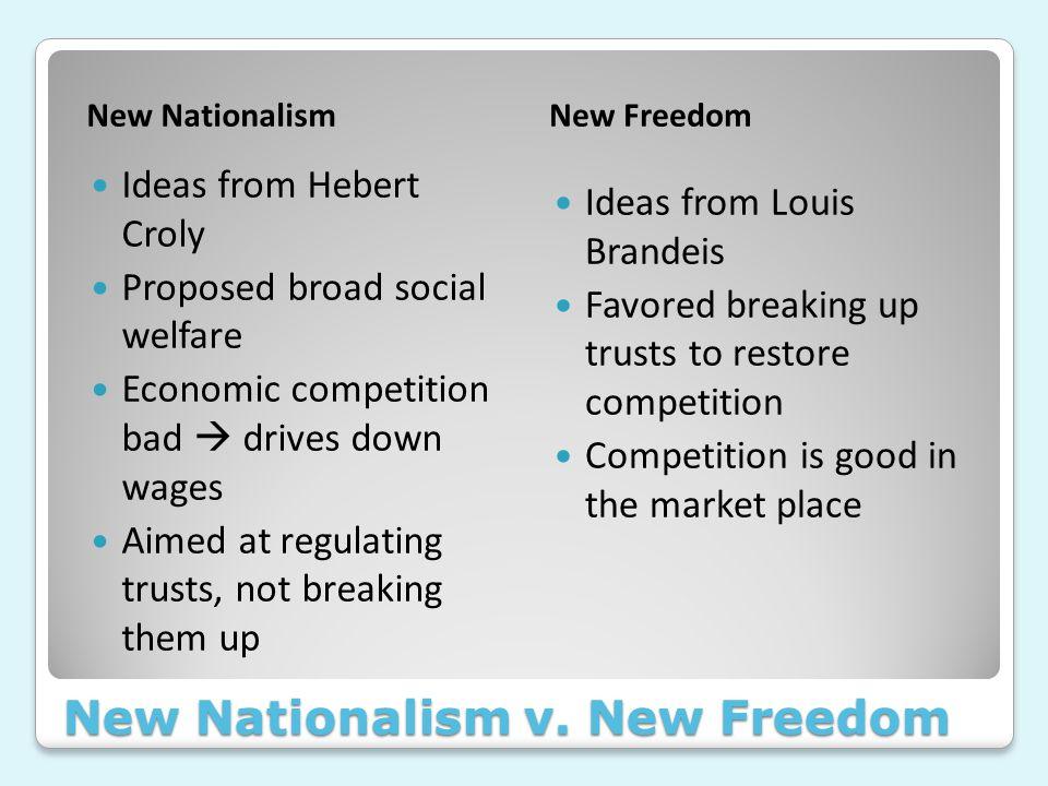 New Nationalism v.