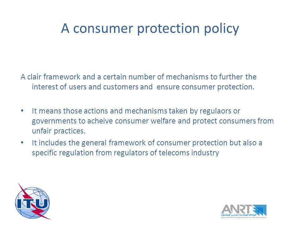 Consumer protection mechanisms : Regulation enforcement Is self-regulation enough .