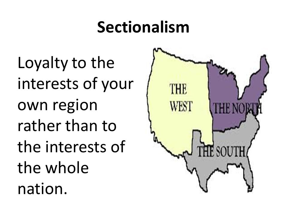 unit 10 sectionalism and civil war