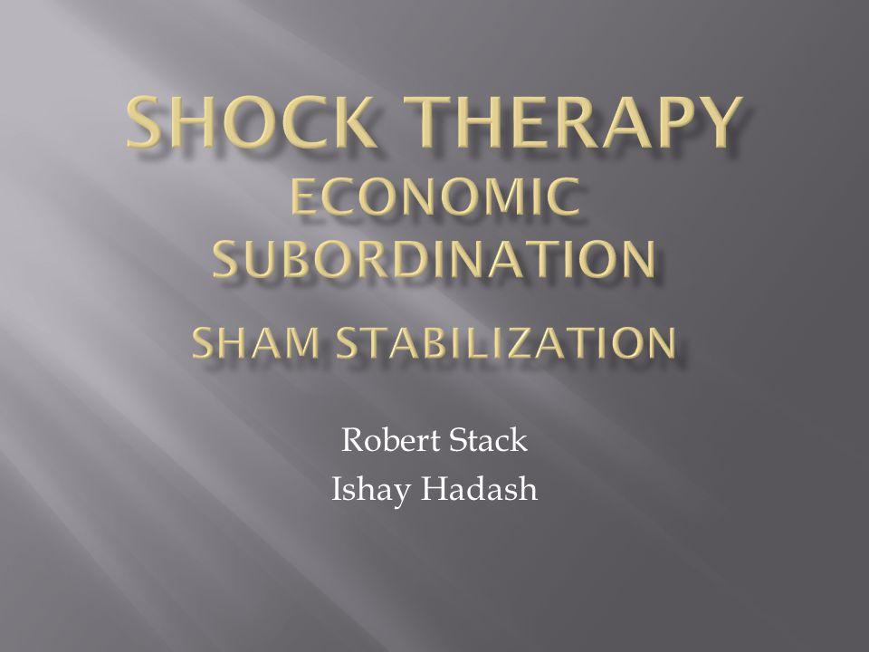 Robert Stack Ishay Hadash