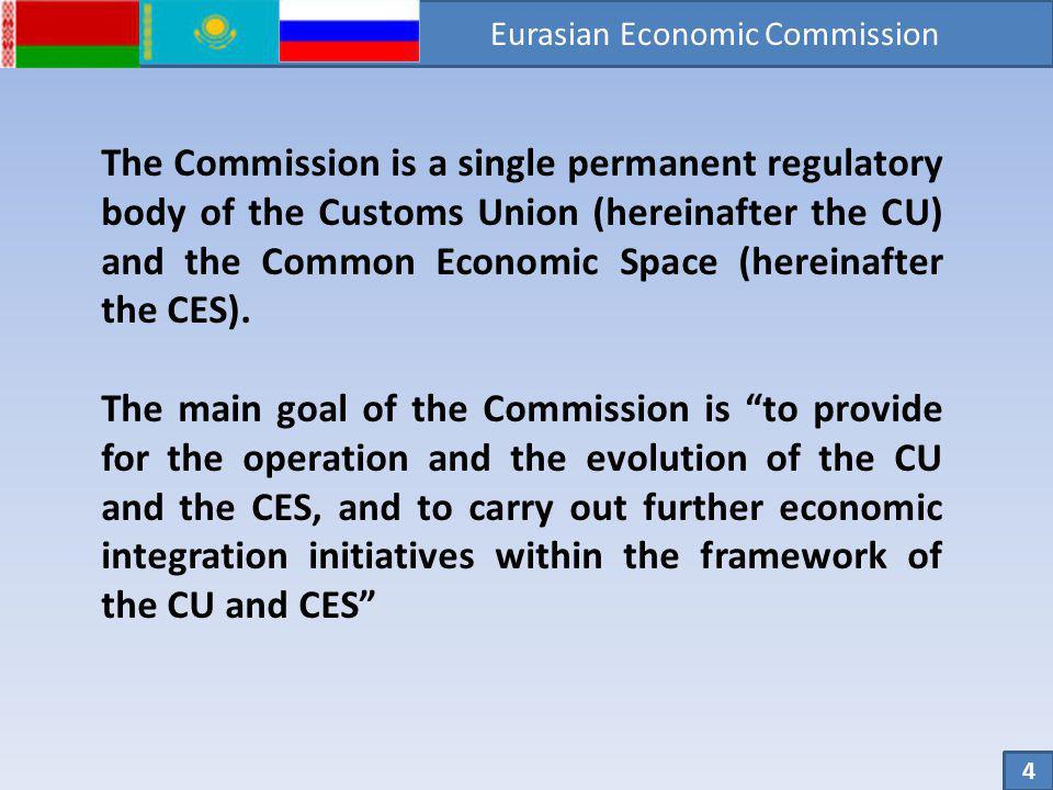 The CU Member States CU Member States: Republic of Belarus, Republic of Kazakhstan, Russian Federation Surface: 20 206 350 km² Population: 173,302 mln.