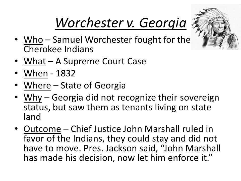 Worchester v.
