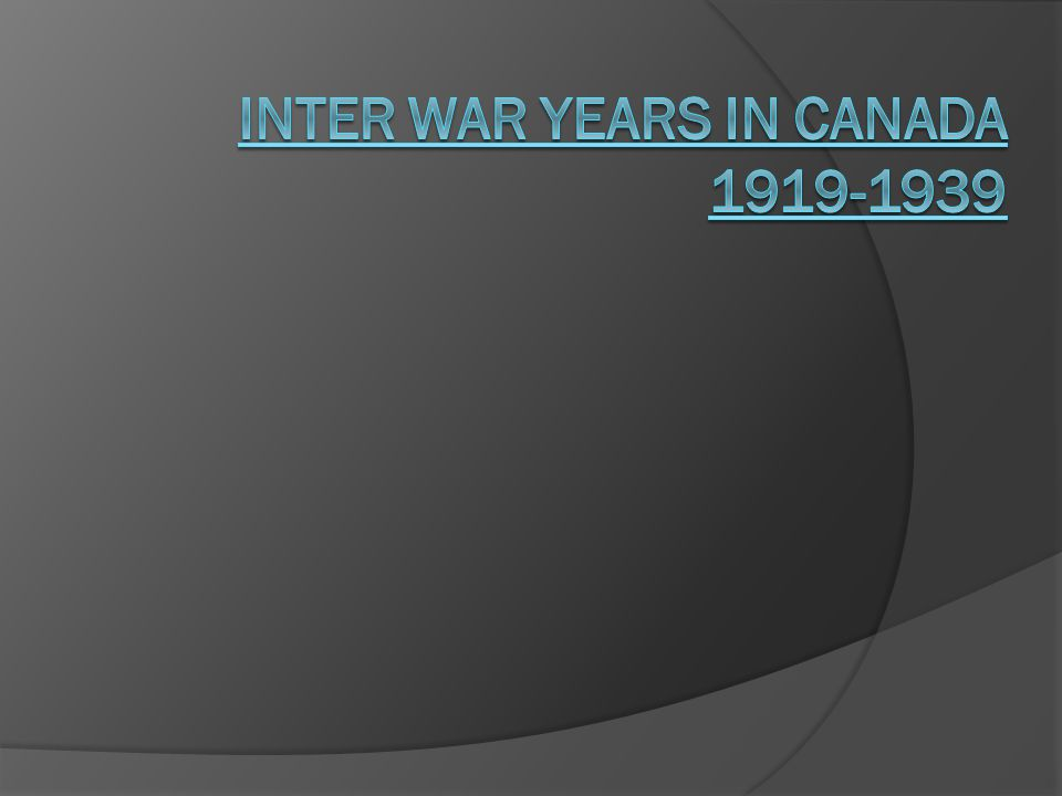 Post-World War One Aftermath of the Great War After four years of war the world had changed New boundaries in Europe and European powers were bankrupt.