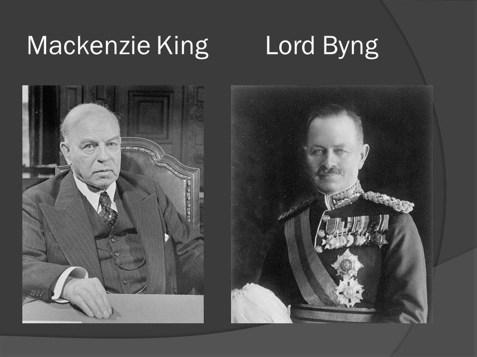 Mackenzie KingLord Byng