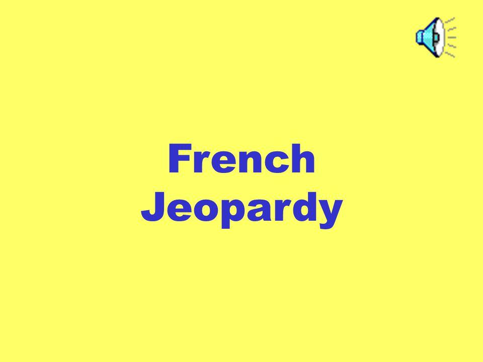 French Jeopardy