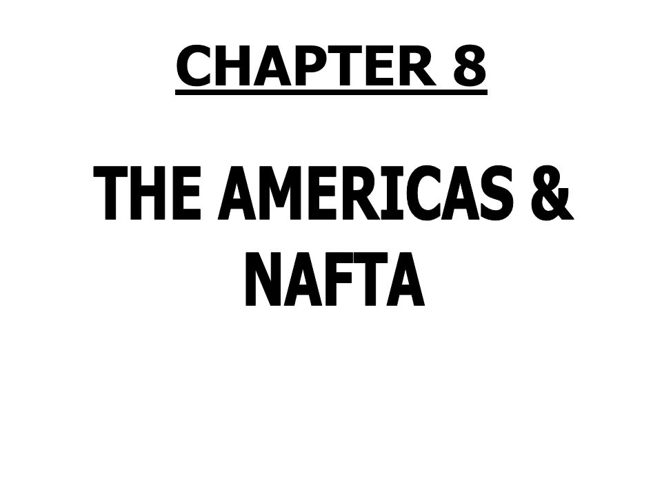 The Americas PRISMs 1.Do regional free trade agreements discriminate against nations outside the region.