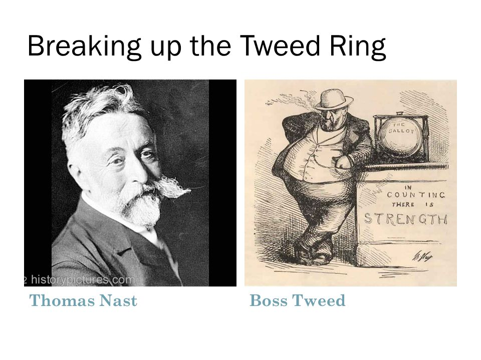 Breaking up the Tweed Ring Thomas NastBoss Tweed