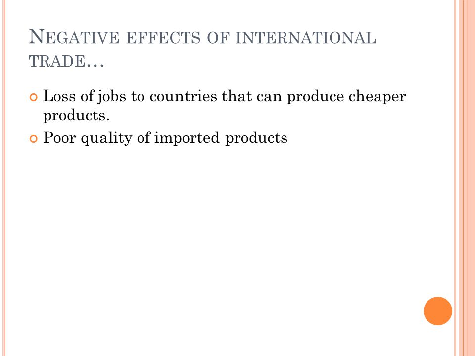 I NTERNATIONAL TRADE IS DEPENDENT ON A FLEXIBLE EXCHANGE RATE ….