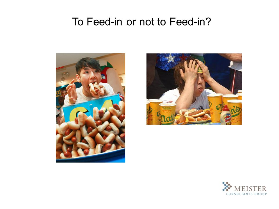 To Feed-in or not to Feed-in?
