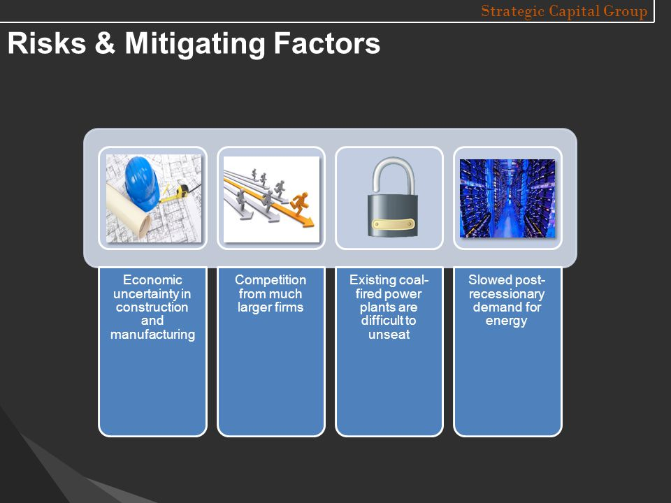 Strategic Capital Group Risks & Mitigating Factors