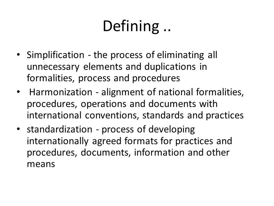 Defining..