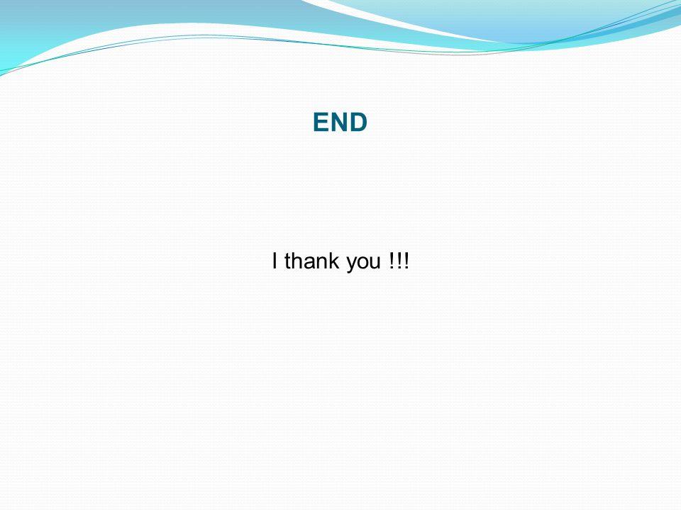END I thank you !!!