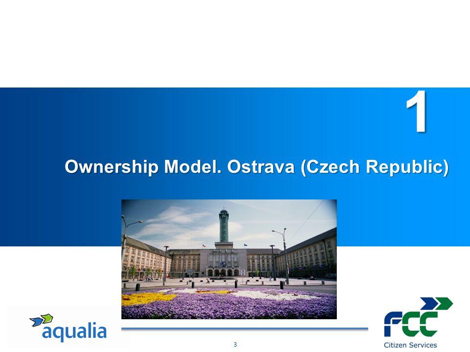 4 1.Ownership Model. Ostrava (Czech Republic ) Severomoravské vodovody a kanalizace Ostrava a.s.