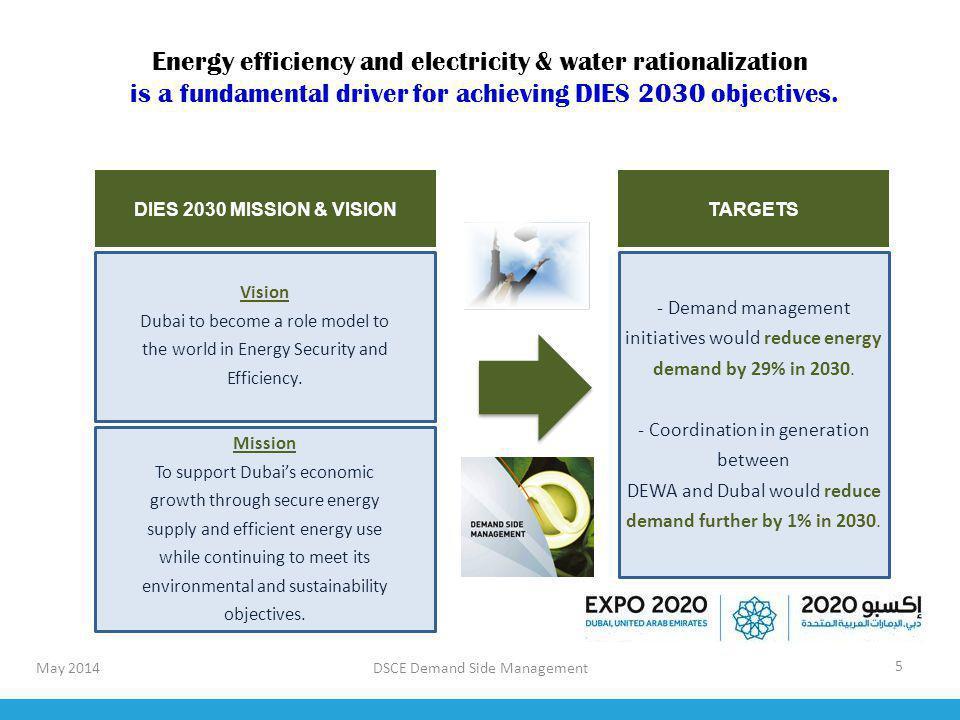 DSCE Demand Side Management 16 Super-ESCO A Super ESCO (Etihad Energy Services) was established to drive the implementation of retrofits in Dubai and grow the energy services market.