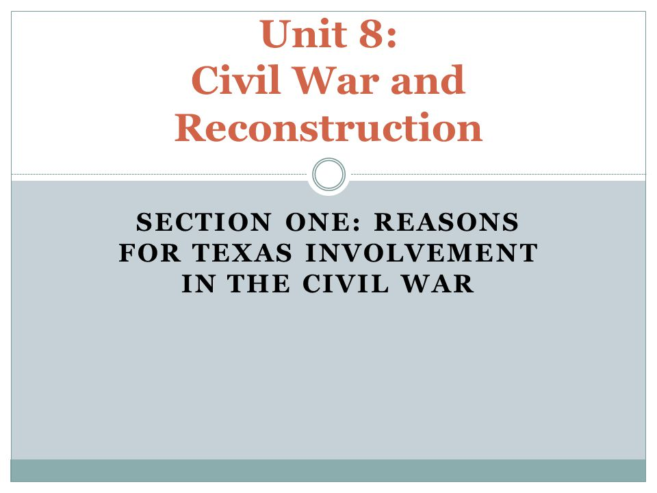 Texas as a U.S.State From 1845 to 1861, Texas grew economically, politically, and socially.