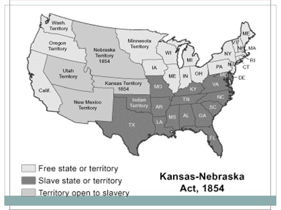 The Dred Scott Case Dred and Harriet Scott were slaves.