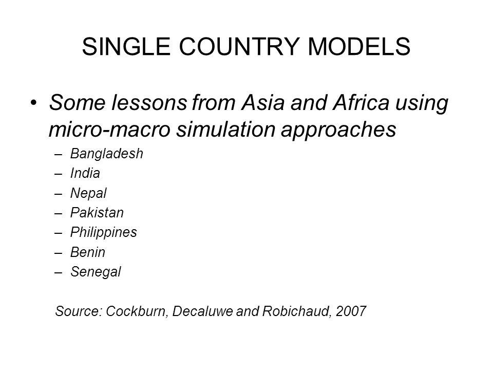 CLOSURE MATTERS Modelling domestic savings: Senegal vs.