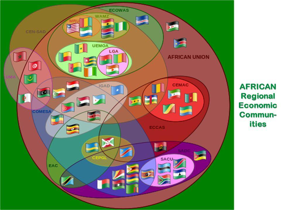 AFRICAN Regional Economic Commun- ities