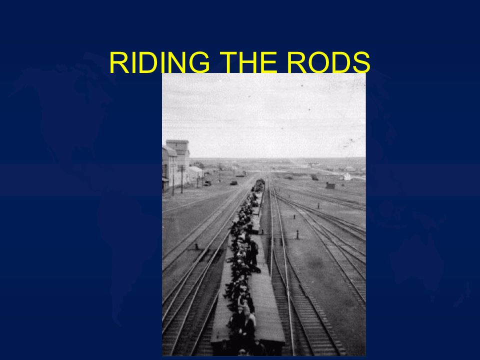 RIDING THE RODS