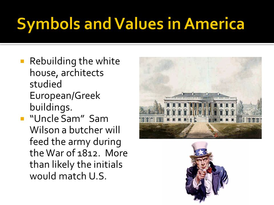 Rebuilding the white house, architects studied European/Greek buildings.
