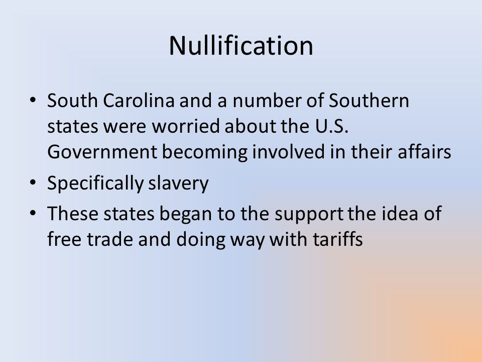 Nullification John C.