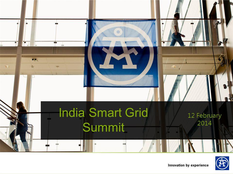 India Smart Grid Summit 12 February 2014