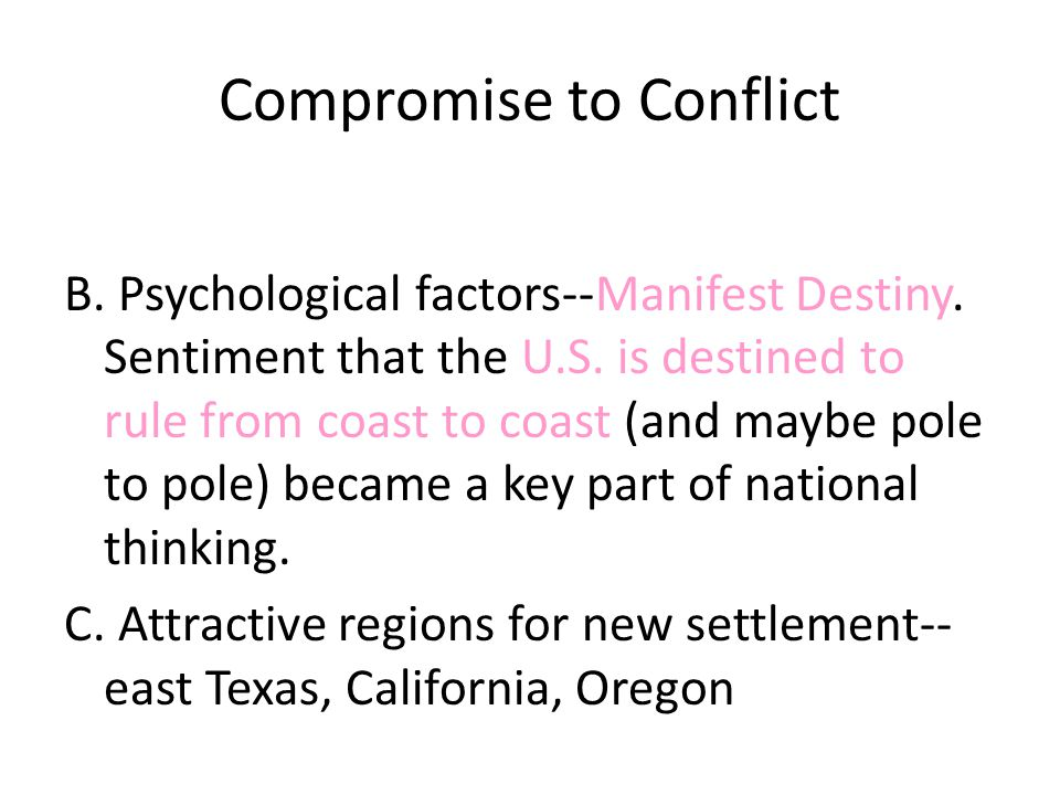Compromise to Conflict II.Missouri Compromise (1820) A.