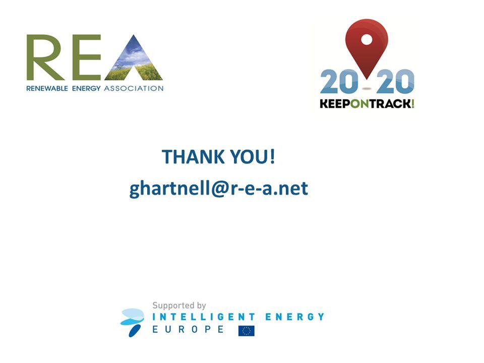 THANK YOU! ghartnell@r-e-a.net