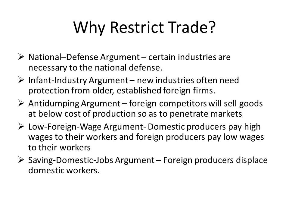 What really is trade.