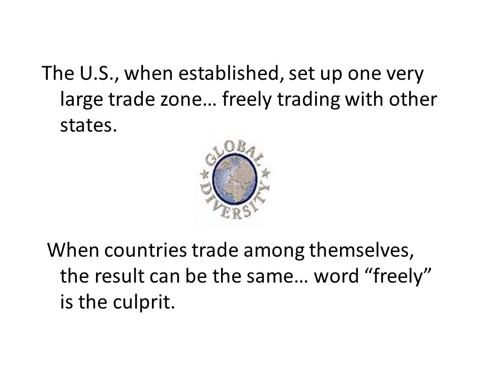 Bottom Line for Trade 1.Productivity is what makes us rich.