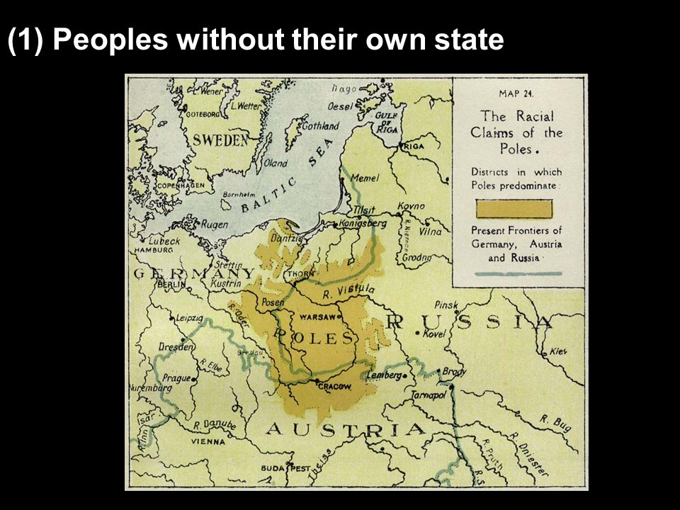 (1) Peoples without their own state