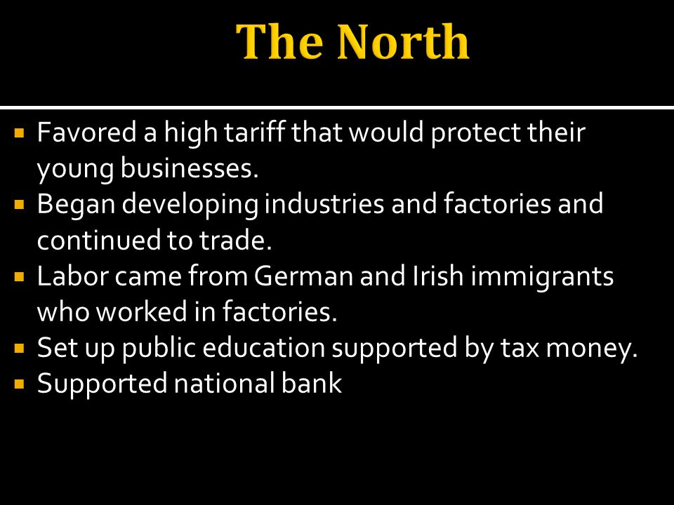 Another one of Eli Whitneys inventions were very important to the Northern economy.