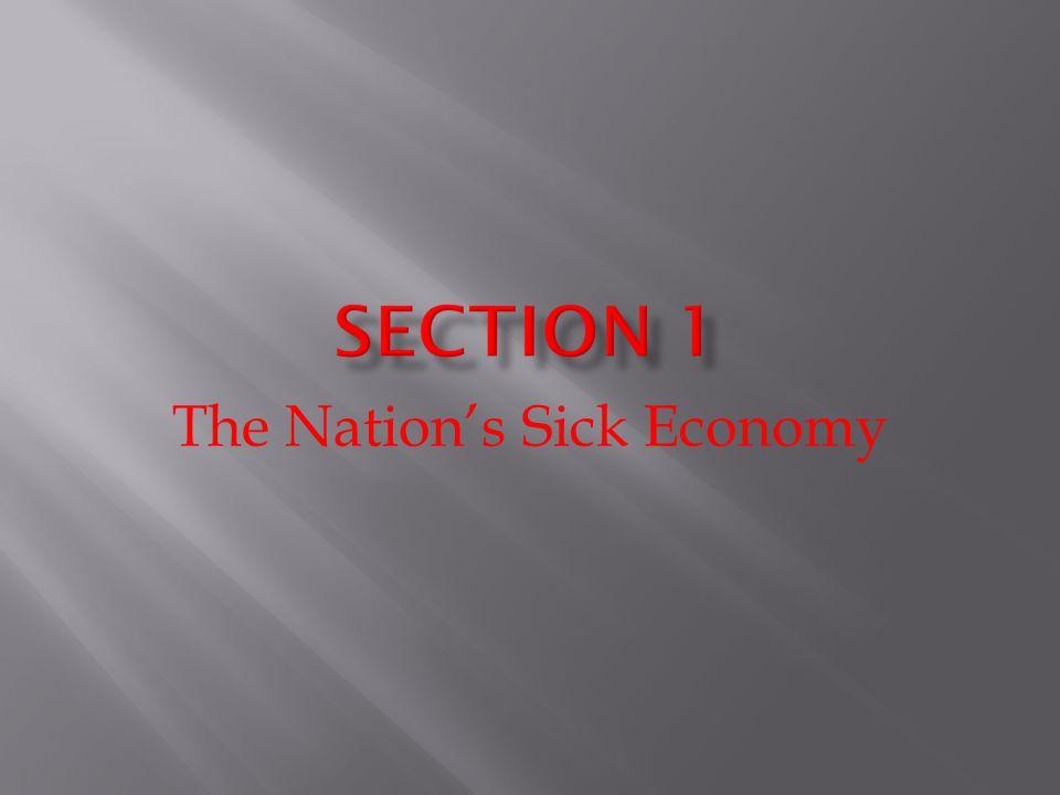 The Nations Sick Economy