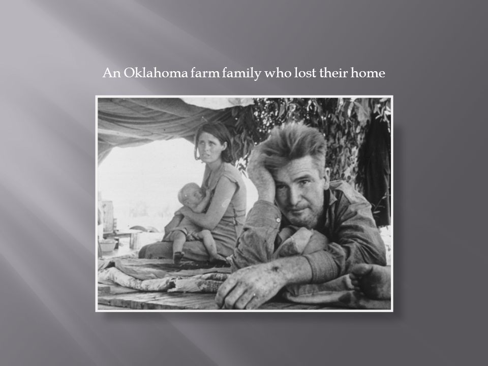 An Oklahoma farm family who lost their home
