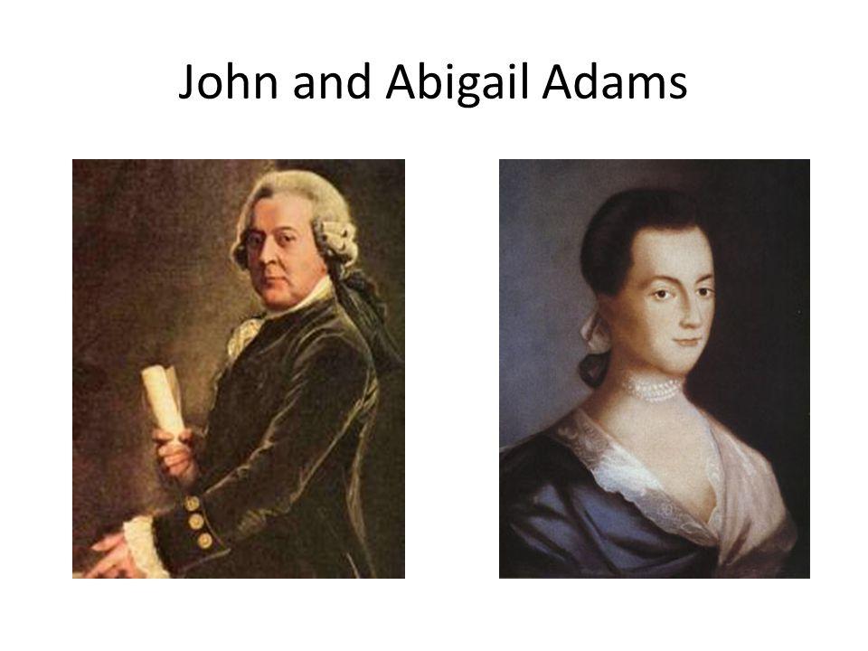 John and Abigail Adams