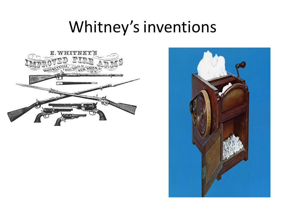 Whitneys inventions
