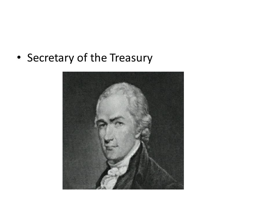 Secretary of the Treasury