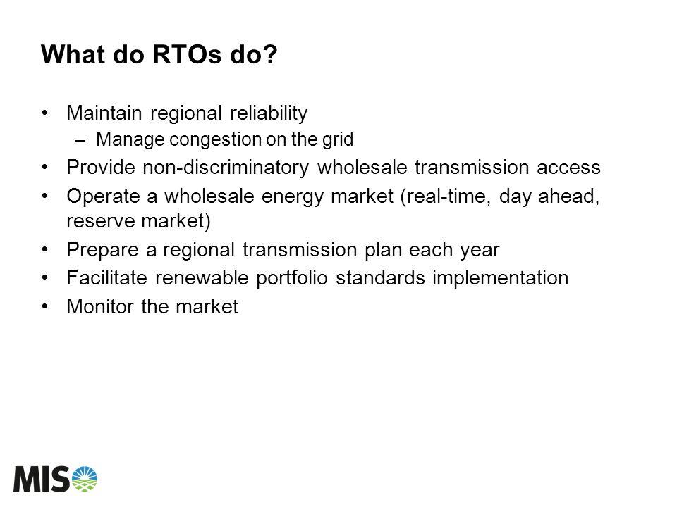 What do RTOs do.