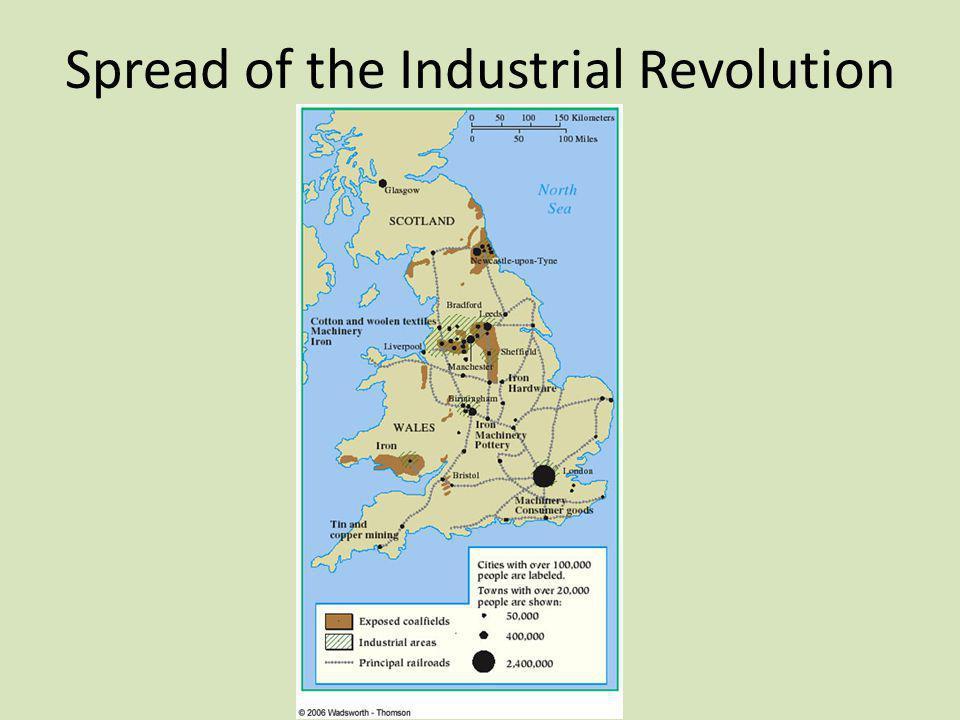 Spread of the Industrial Revolution