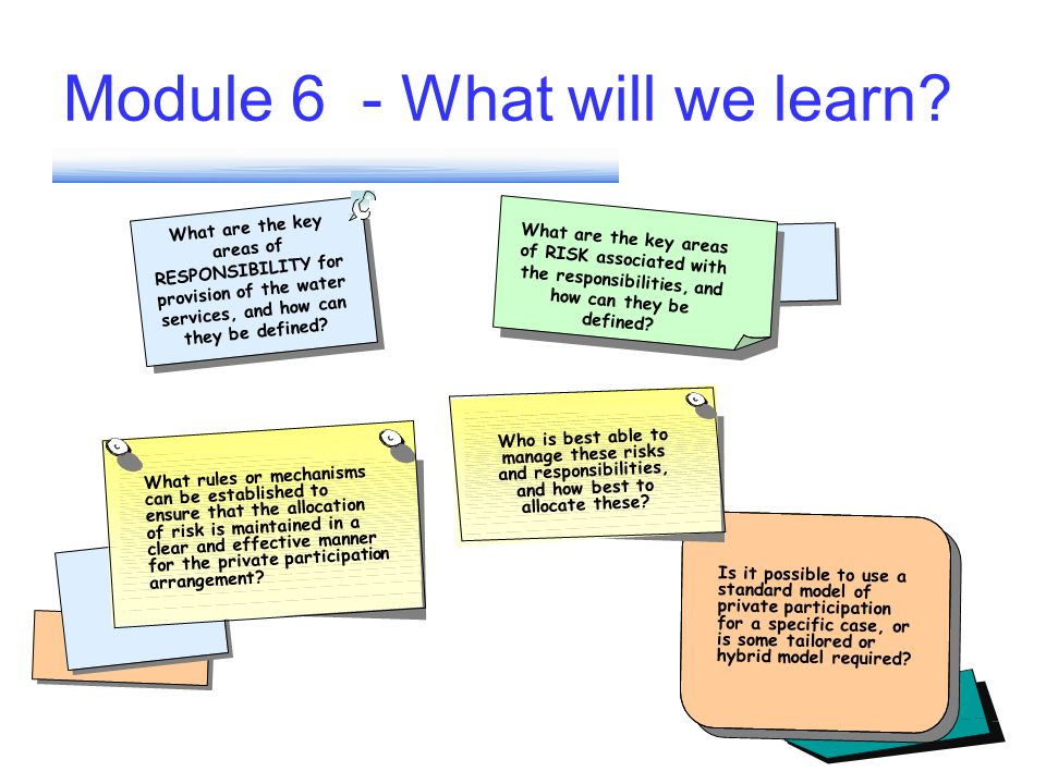 DO NOT MOVE or ERASE THE PREVIOUS SLIDES AFTER END OF MODULE