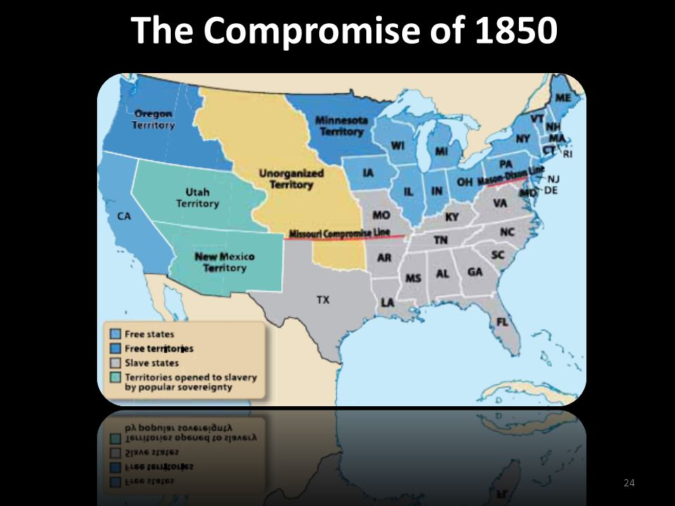 The Compromise of 1850 24