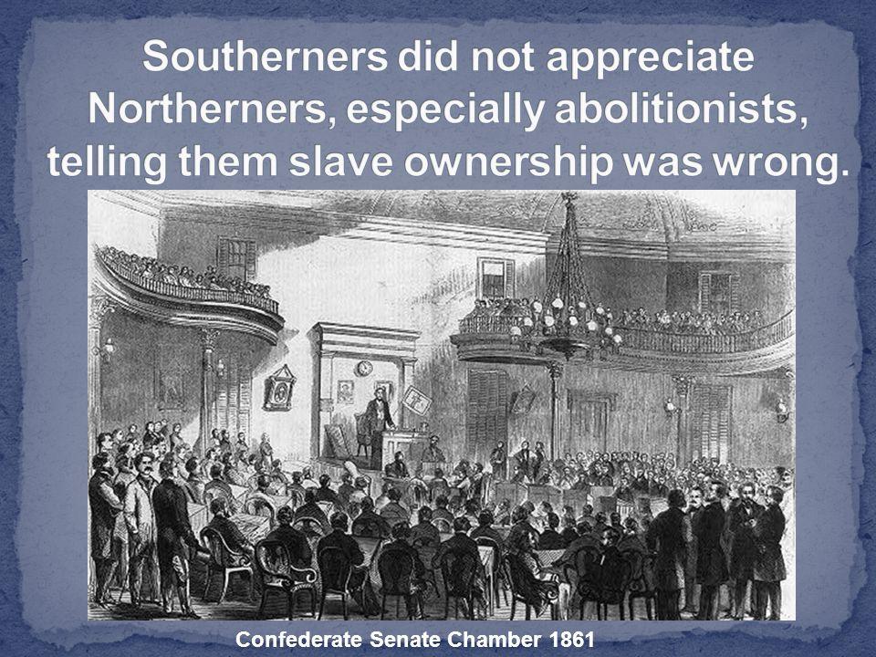 Confederate Senate Chamber 1861