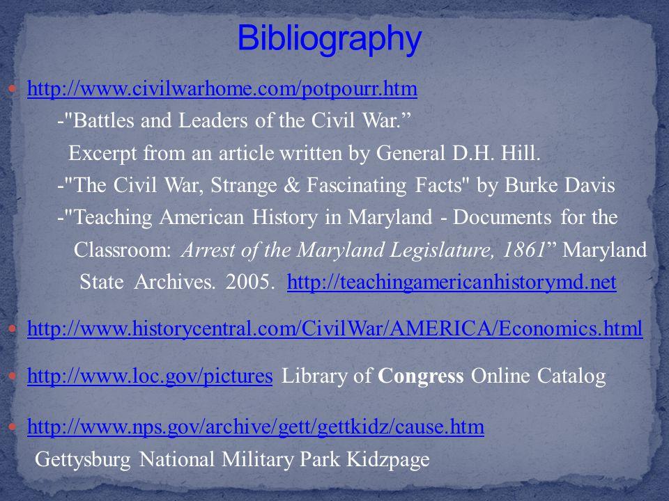 http://www.civilwarhome.com/potpourr.htm -