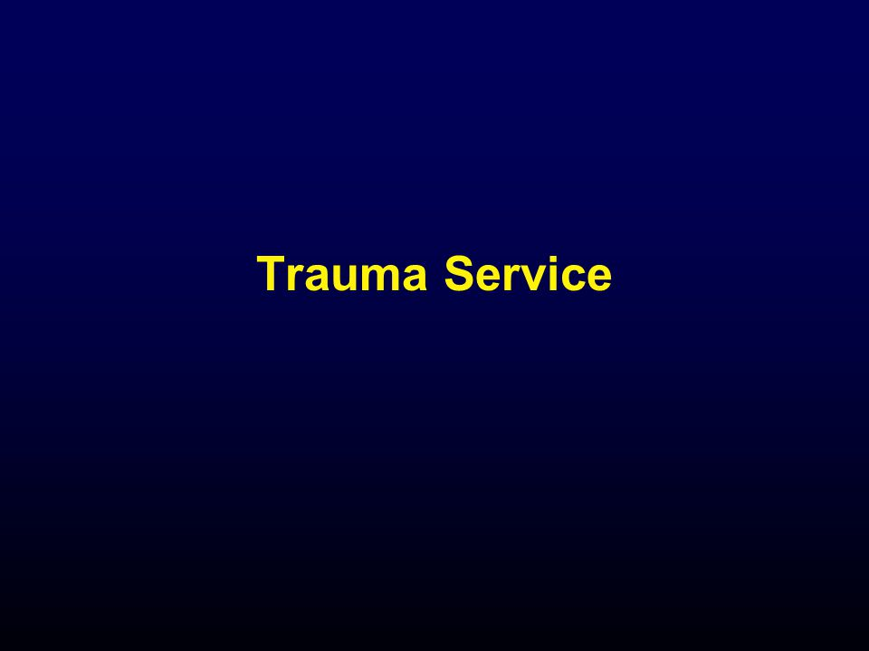 Trauma Service