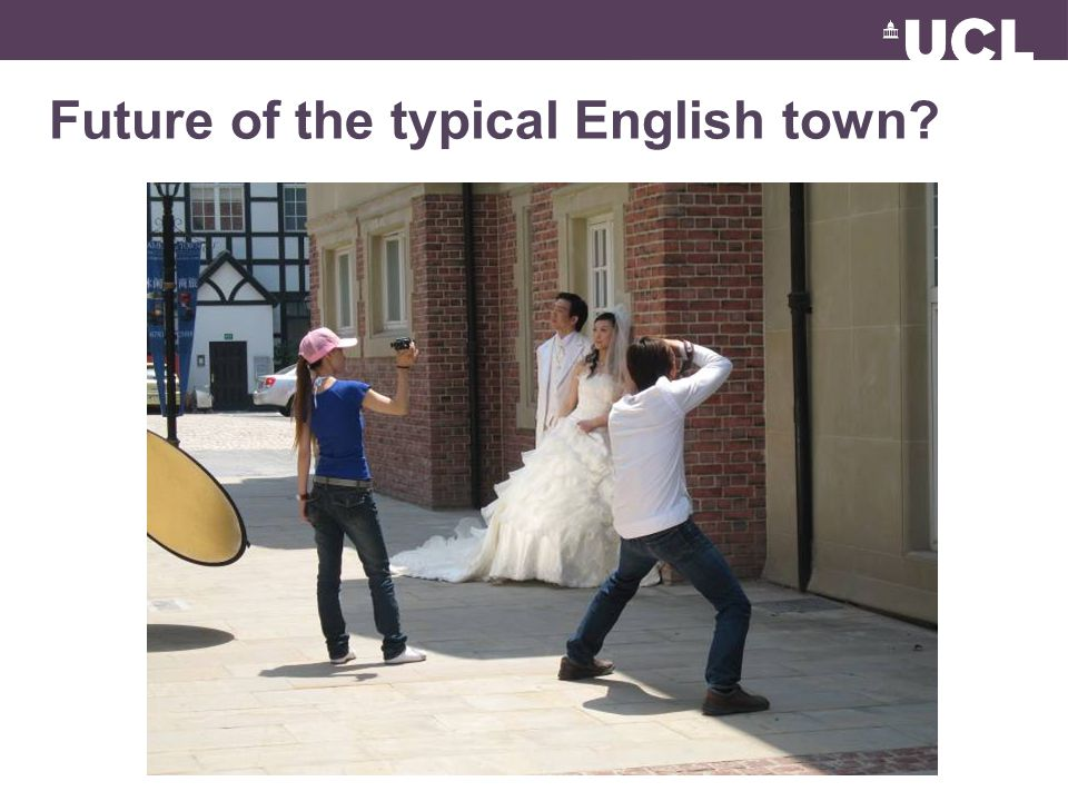 Future of the typical English town?