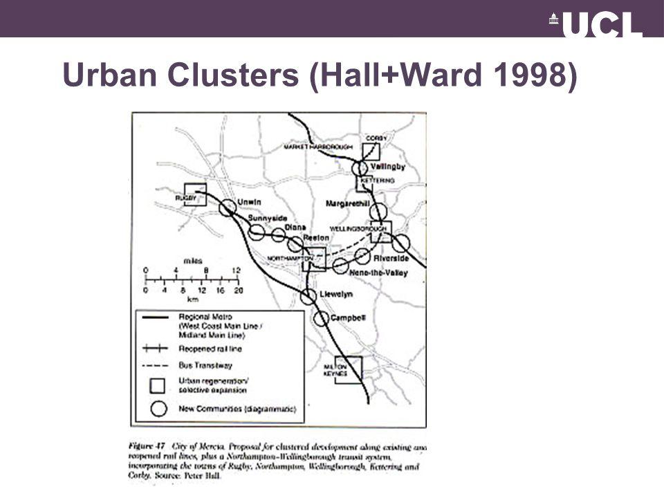 Urban Clusters (Hall+Ward 1998)