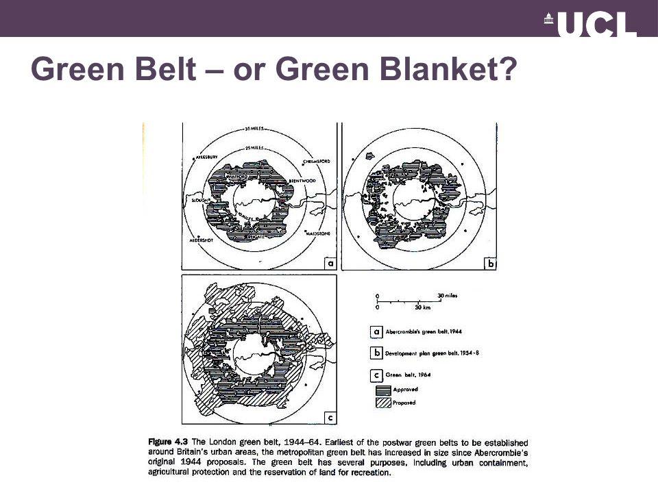 Green Belt – or Green Blanket